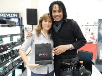 Helen Cook with Black-Up David Make-Up Artist from Paris