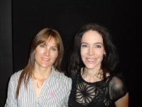 Helen Cook with Rae Morris Australia