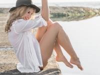 Helen Cook Hair & Makeup Artistry Cape Town Styled Shoot Camps Bay Beach Arina test-2